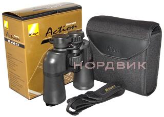 Бинокль Nikon Action VII 16x5 CF купить в магазине