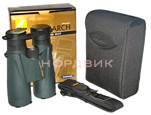 Комплектация бинокля Nikon Monarch 10x56 DCF WP