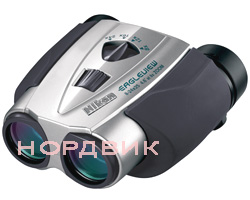 Бинокль Nikon Eagleview Zoom 8-24x25 Silver